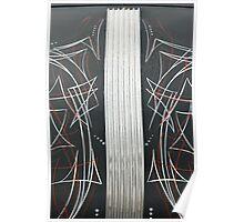 Pinstripe Panel Poster