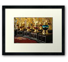 trophy Framed Print