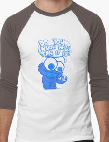 C is for cookie and cookie is for me! Men's Baseball ¾ T-Shirt