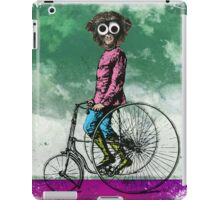 BEHOLD ... THE SIMIAN VELOCIPEDE iPad Case/Skin