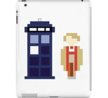 Pixel 5th Doctor and TARDIS iPad Case/Skin