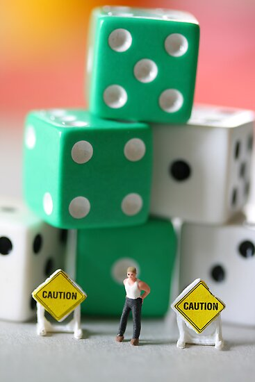 John was usually in control in any situation; however, this one seemed especially dicey! by Susan Littlefield