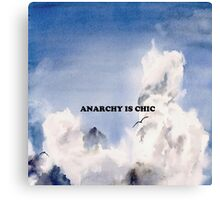 Anarchy is Chic Canvas Print