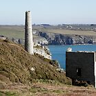 Old Cornish Engine House by Christine Hosey