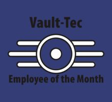 Vault-Tec Employee of the Month by BearWithAKnife-