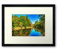Tranquil River Framed Print