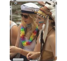 Indians and sailors iPad Case/Skin