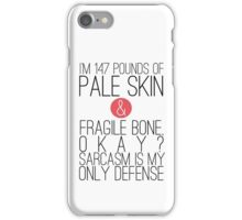 Teen Wolf - Sarcasm iPhone Case/Skin