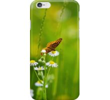 Meadow Butterfly iPhone Case/Skin