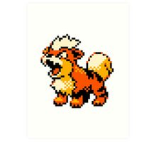 Pokemon - Growlithe Art Print