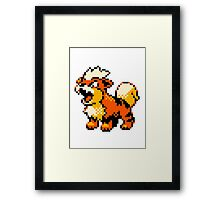 Pokemon - Growlithe Framed Print