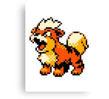 Pokemon - Growlithe Canvas Print