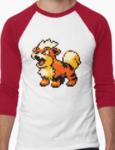 Pokemon - Growlithe Men's Baseball ¾ T-Shirt