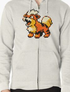 Pokemon - Growlithe Zipped Hoodie