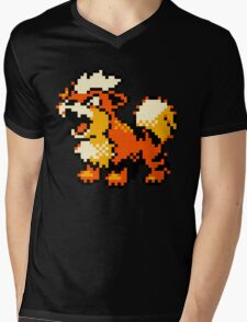 Pokemon - Growlithe Mens V-Neck T-Shirt