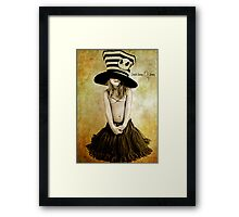 Mad Hatter: Framed Print