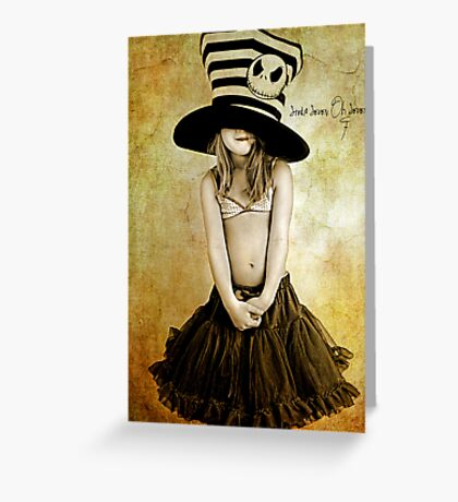 Mad Hatter: Greeting Card