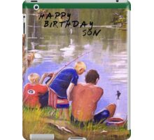 HAPPY BIRHDAY SON iPad Case/Skin
