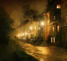 street lights by DARREL NEAVES