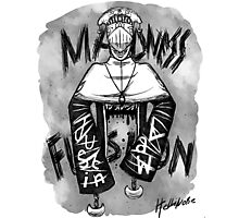 Justin Law Madness Fusion Photographic Print
