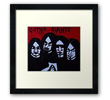 Gothic Giants Framed Print