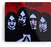 Gothic Giants Metal Print