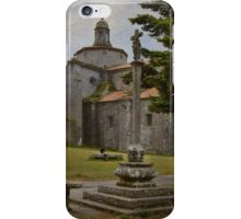 The pilgrim and the book iPhone Case/Skin