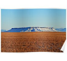 Square Butte is Beautiful Poster
