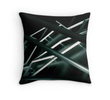 Geometries Throw Pillow