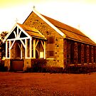 Catholic Church, Roebourne WA by Ngarluma78