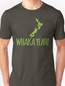 Whaka YEAH! OH YEAH Kiwi New Zealand funny T-Shirt