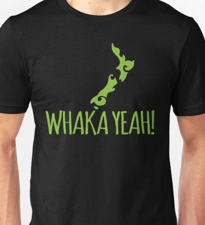 Whaka YEAH! OH YEAH Kiwi New Zealand funny Unisex T-Shirt