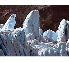 Glacial upheavals Photographic Print