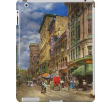 City - Providence RI - Living in the city 1906 iPad Case/Skin