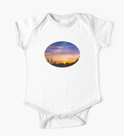 Sunset Landscape One Piece - Short Sleeve