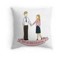 Every Girl Needs a Jim Halpert Throw Pillow