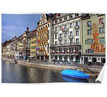 Lovely Luzern_Switzerland Poster