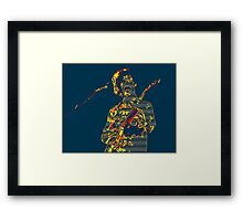 I Am The Slime from your Video Set Framed Print