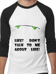 Marvin the Android's vision of life Men's Baseball ¾ T-Shirt