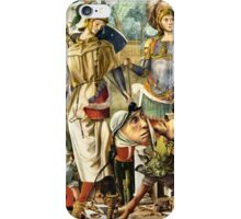 Two Nephilim ~ Angels or Aliens. iPhone Case/Skin