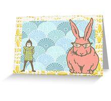 What rabbit? Greeting Card