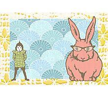 What rabbit? Photographic Print