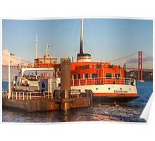 ferry boat *eborense* Poster