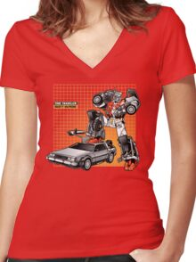 Marty McPrime (New Version) Women's Fitted V-Neck T-Shirt