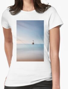 Lighthouse Blues Womens Fitted T-Shirt