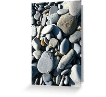 Pebbles in Sunlight Greeting Card