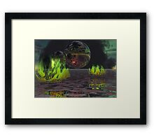 Chaos of Creation - Worlds Framed Print
