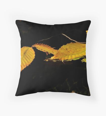Nova Scotia Leaf Monster Throw Pillow