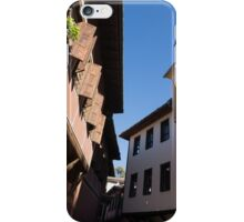 Oriel Windows and Renaissance Facades in Old Town Plovdiv, Bulgaria iPhone Case/Skin