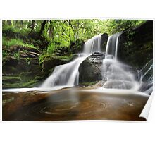 Waterfall at the Black Spout Pitlochry Scotland Poster